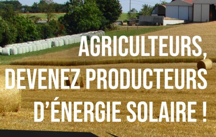 28 janvier 2020 : journée d'information sur l'énergie solaire pour les agriculteurs